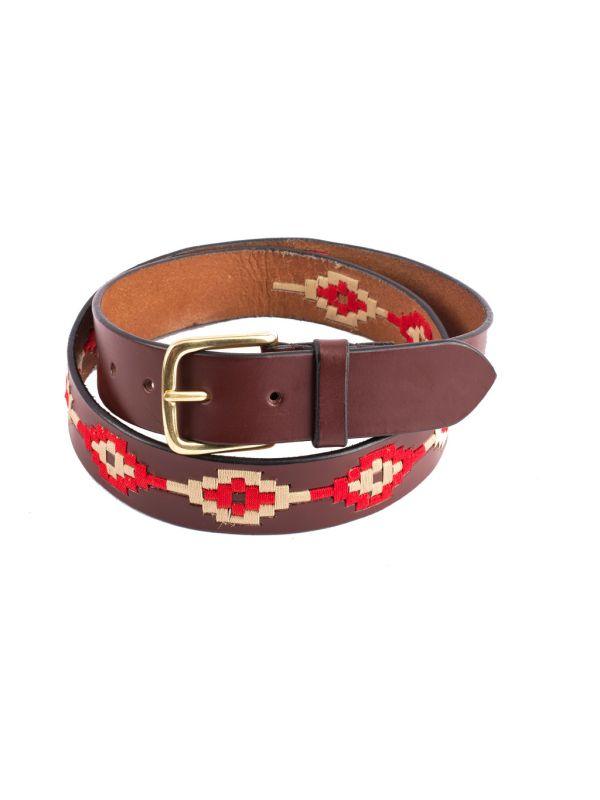 Gaucho Belt -  Red