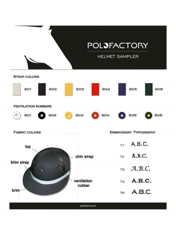 Safety Polo Helmet