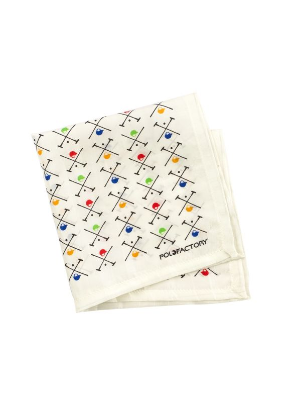 Pocket Square - Polo Mallet